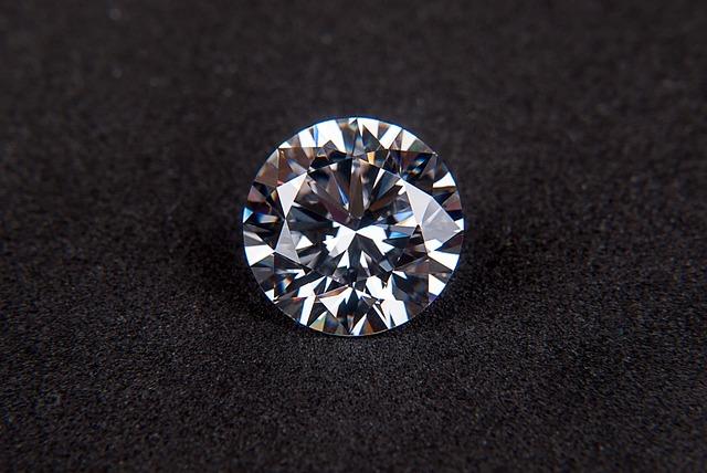 Bild mit einem Diamanten