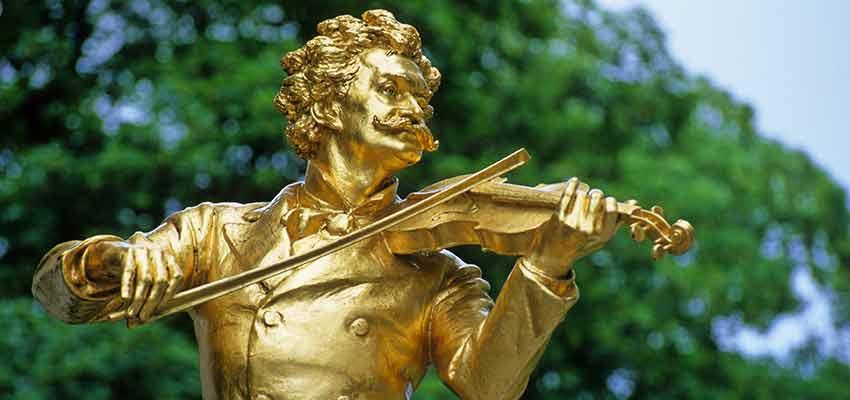 Wiener Denkmal Komponist Bild