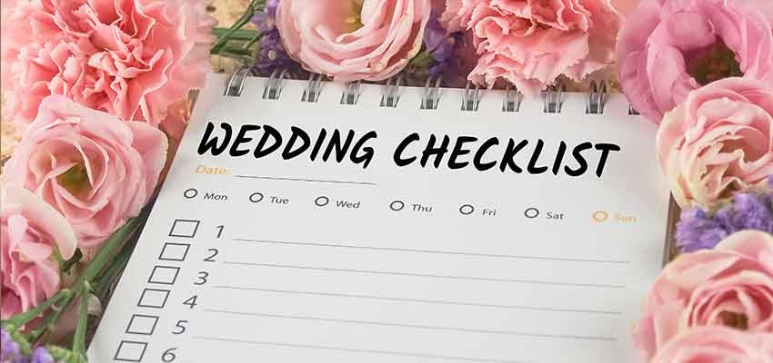 Hochzeitscheckliste Bild
